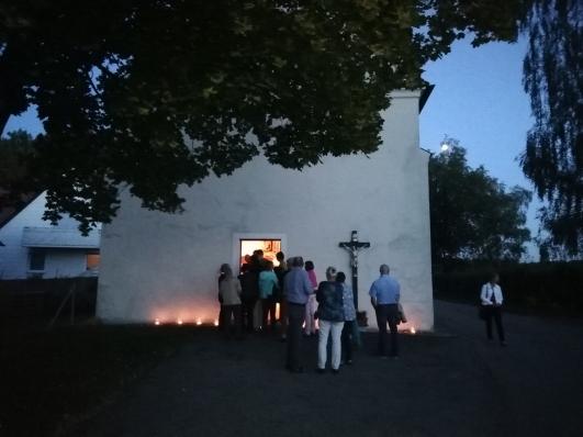 Kapelle Egelsee Schlange