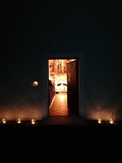 Kapelle Egelsee Tür